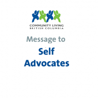 Message from CLBC CEO and Self Advocate Advisor