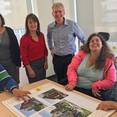 Residents look forward to new inclusive housing in New Westminster