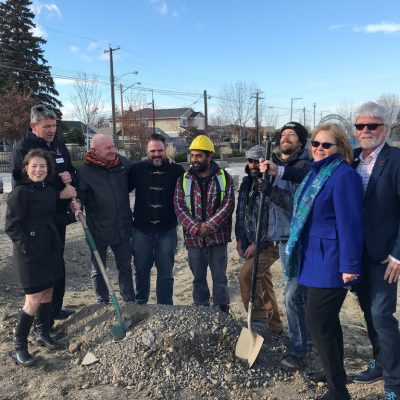 New affordable housing under construction in Kamloops
