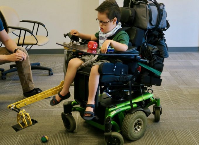 Children with special needs benefit from CanAssist devices
