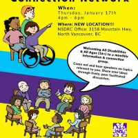 Disabled Community Connection Network (DCCN)  Meeting is on  January 17th  at a New Location