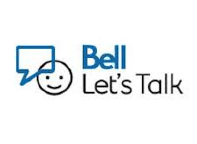 Bell Let's Talk Day is January 30th,2019.