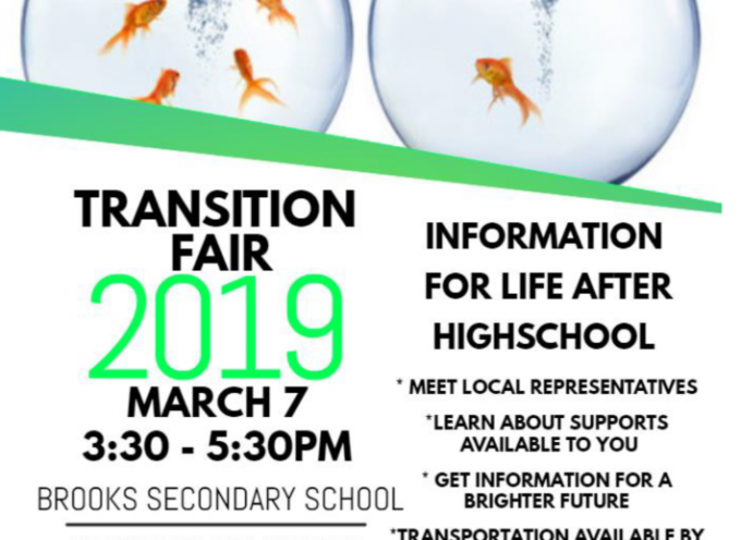 Transition Fair 2019 – Powell River