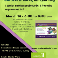 Join with Lydia Kang myBooklet BC Event a session  of introducing a free online empowerment tool