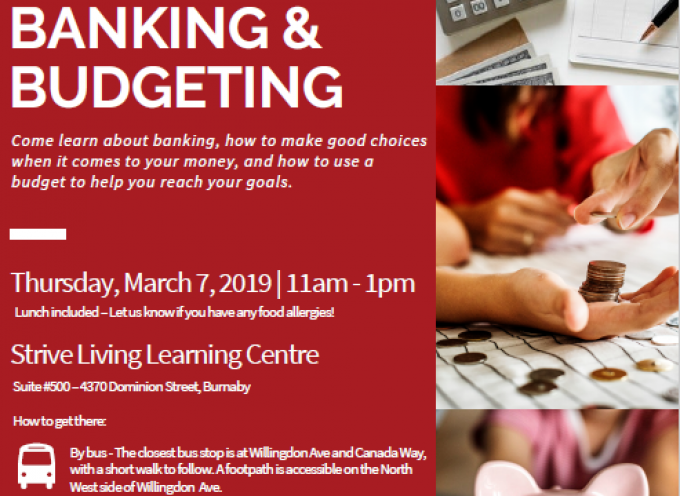 Let's Learn about Basic Banking and Budgeting