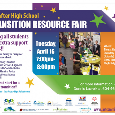 Life After High School Transition Fair