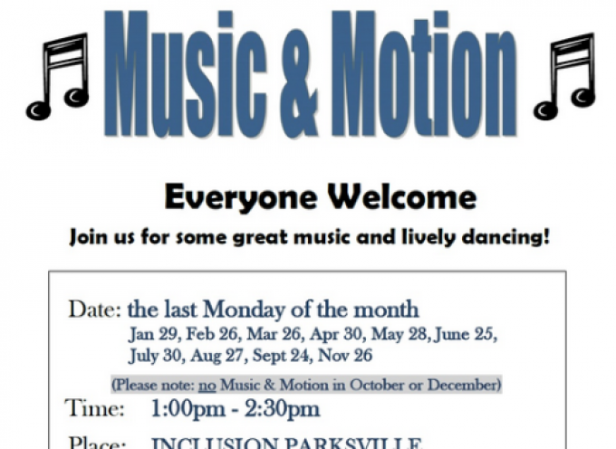 Parksville Music and Motion