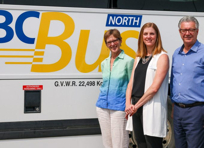 Federal, B.C. governments commit to continue northern bus service