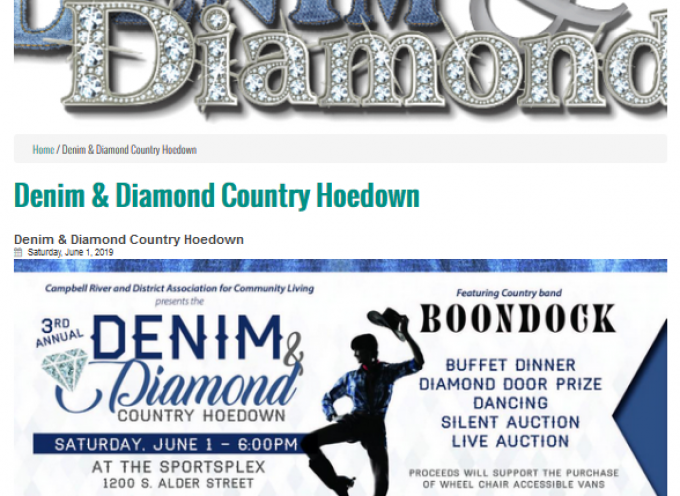 Denim and Diamond Country Hoedown