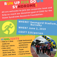 Run Up for Down Syndrome with posAbilities
