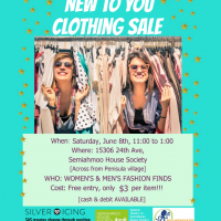 The Annual Self-Advocates of Semiahmoo (SAS) Clothing Sale