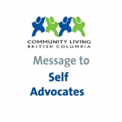 CLBC Messenge to Self Advocates June update