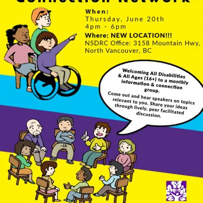 The Disabled Community Connection Network (DCCN) Group Meeting June 20th,2019