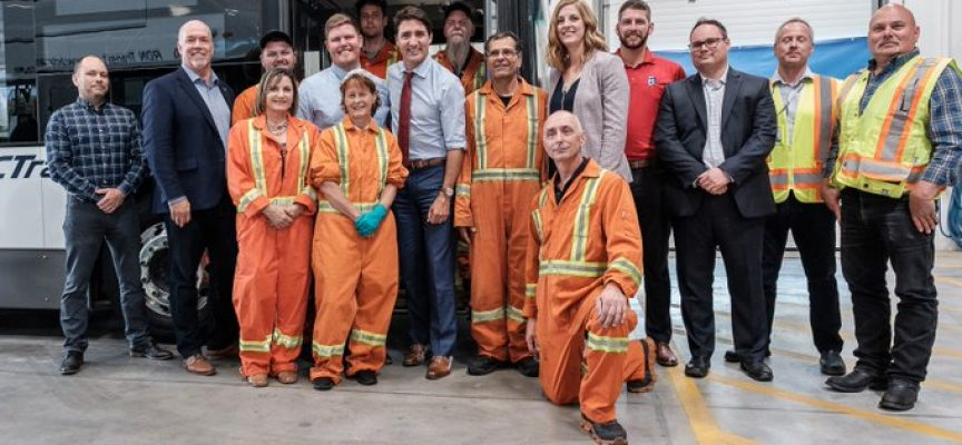 New investments to improve public transit for British Columbia