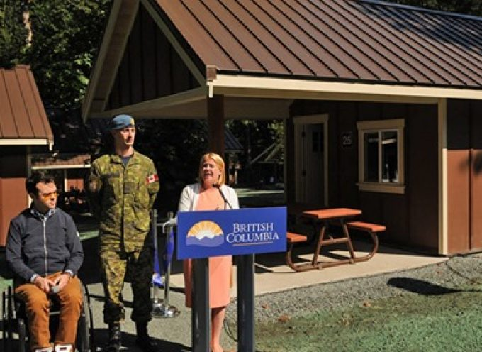 25 new wheelchair-accessible cabins open at Cultus Lake Provincial Park