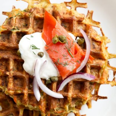 Waffled Vegetable Latkes