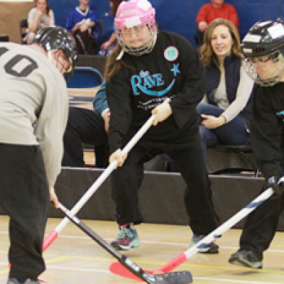 Adapted Floor Hockey for Adults