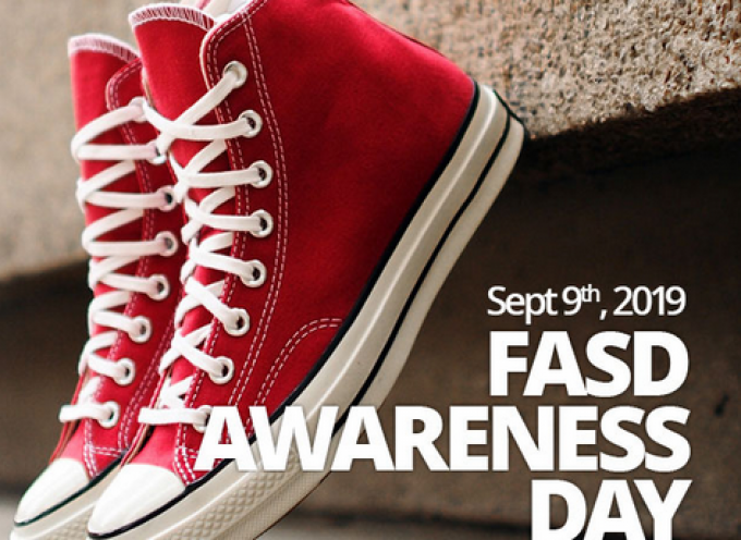Fetal Alcohol Syndrome Day Sept 9th,2019
