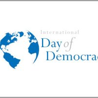 International Day of Democracy September 15th,2019