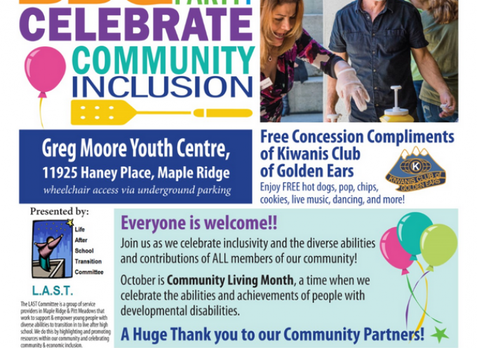 Community Inclusion BBQ and Party