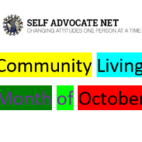October is Community Living Month