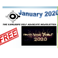 The Kamloops Self Advocates Newsletter January 2020 Edition