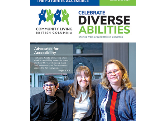 Celebrate Diverse Abilities Magazine Winter 2019/2020.