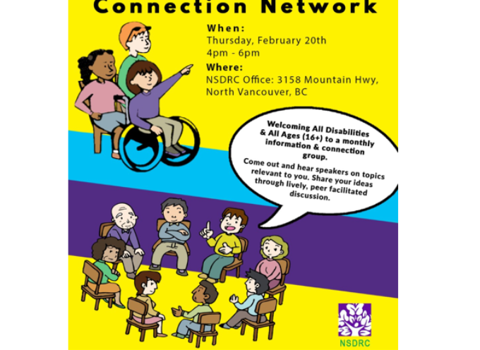 Disabled Community Connection Network (DCCN) meeting February 20th,2020