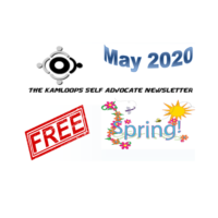 The Kamloops Self Advocates Newsletter May 2020 Edition