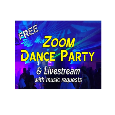Nanaimo Community Dance FREE Friday Night Zoom Dance Party & Livestream @ 7PM