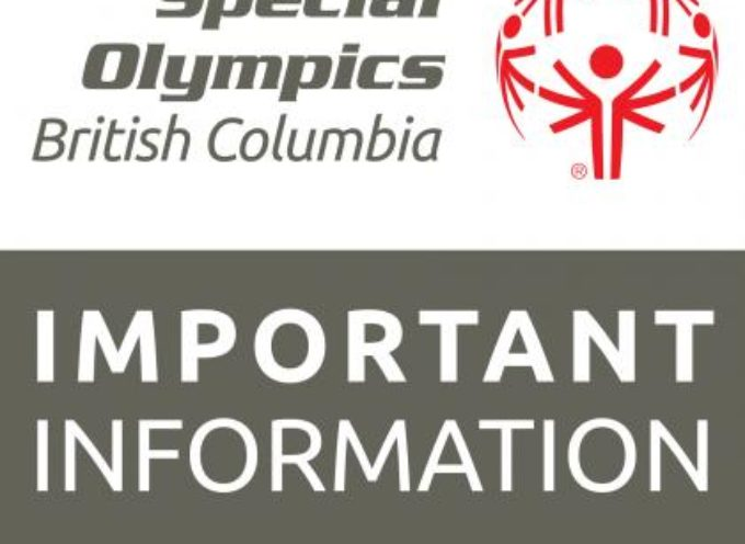Special Olympics BC COVID-19 update May 7,2020