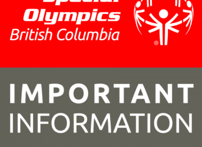 Special Olympics BC COVID-19 update May 22