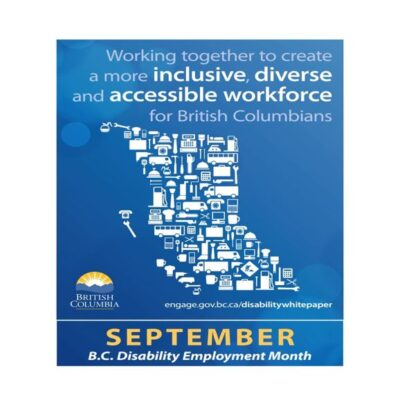 September is Disability Employment Month 2020 in British Columbia