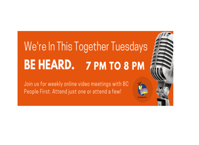 We're In This Together Tuesdays