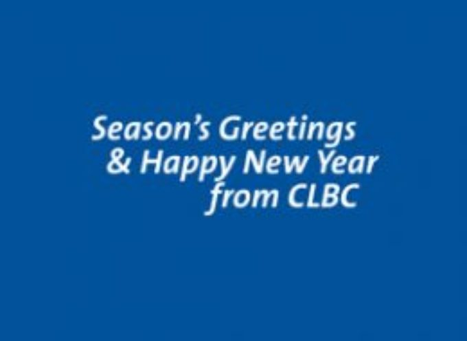 Season's Greetings and Happy New Year!