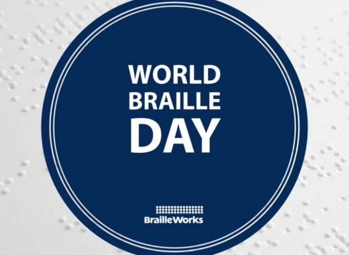 World Braille Day Jan 4th,2021
