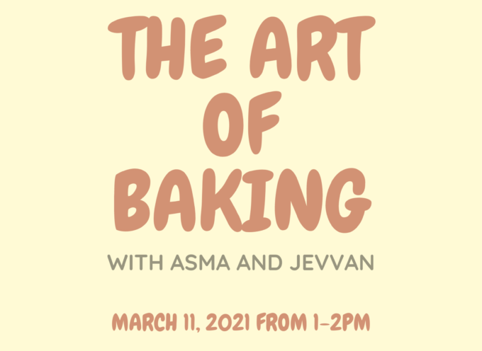 SALN Bring you Baking with Asma and Jeevan