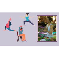 Yoga 4 All with Maria/Mindfulness with Riley