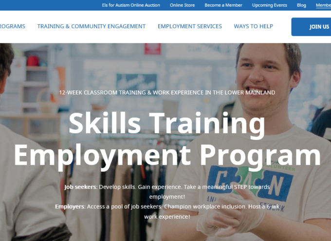 The Canucks Autism Network-Skills Training Employment Program (CAN-STEP)