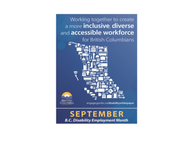 September 2021 is Disability Employment Month in BC