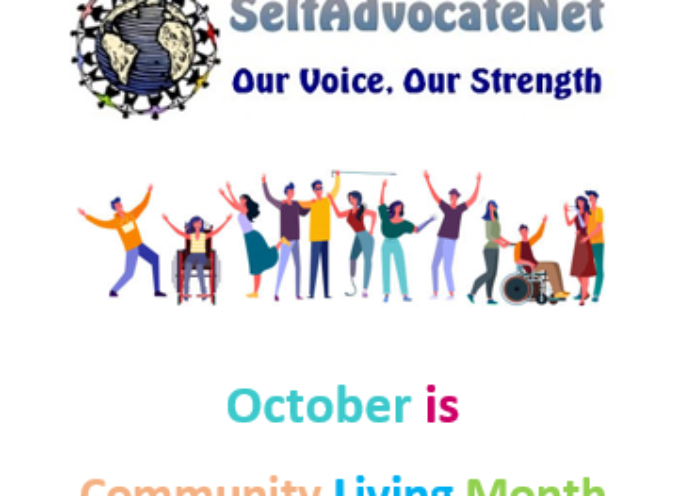 October is Community Living Month 2021