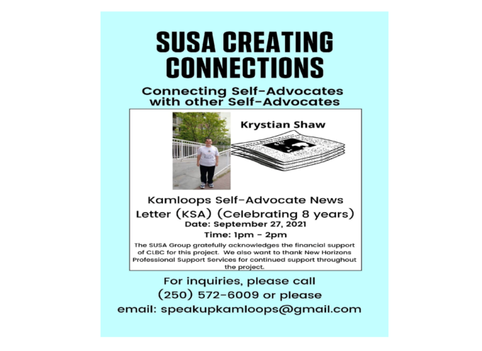 SUSA CREATING CONNECTIONS CELEBRATING KSA NEWSLETTER 8 YEARS WITH KRISTIAN SHAW.